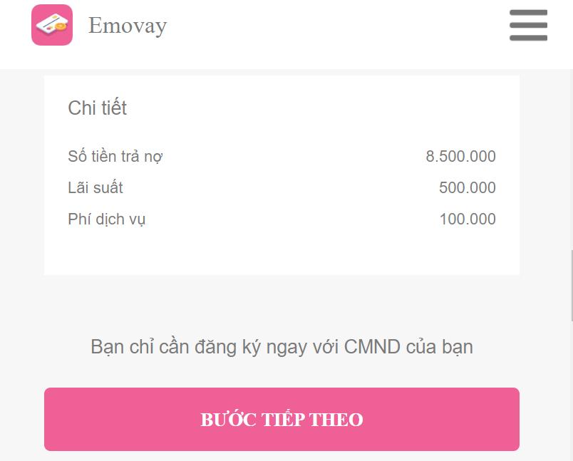 Vay tiền Emovay