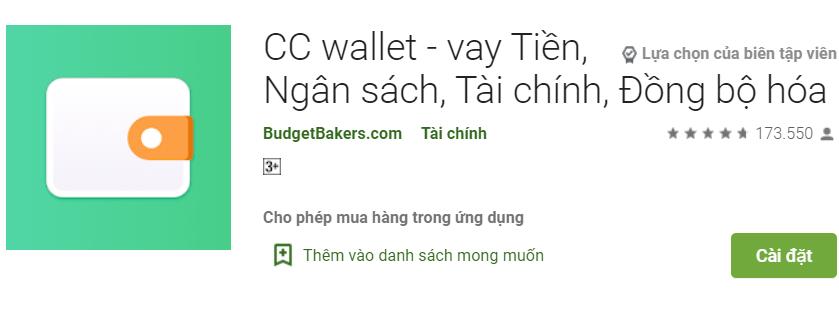 CC Wallet vay tiền online