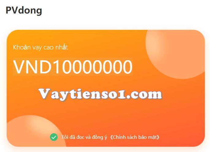 Nhận 10 triệu tại h5 PVdong